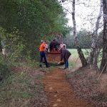 Onderhoud fietspad door vrijwilligersgroep in Zwolle